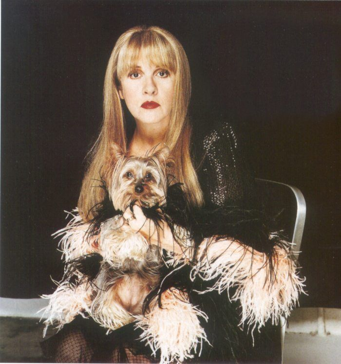 Stevie Nicks & pup | ~Stevie Nicks~Fleetwood Mac~ | Stevie