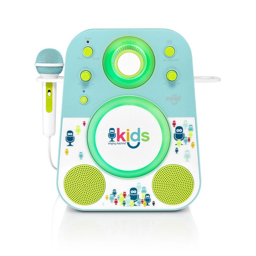 Singing Machine SMK250PPT Kids Karaoke system, Blue Green #karaokesystem