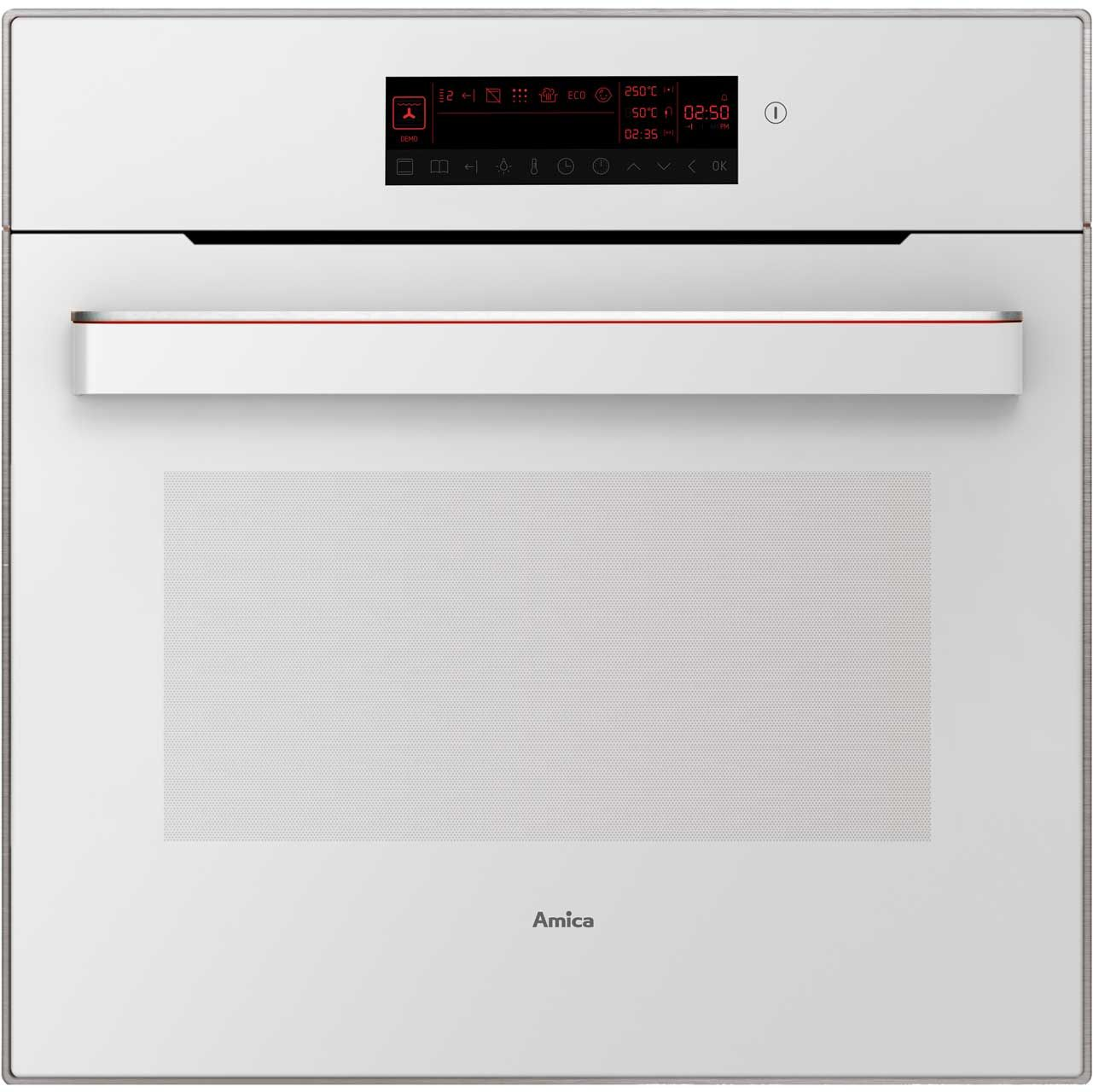 Amica In833w Built In Electric Single Oven White Kitchen