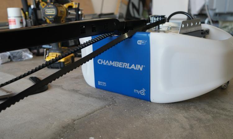 Chamberlain Wi Fi Garage Door Opener Review Garage Door Opener