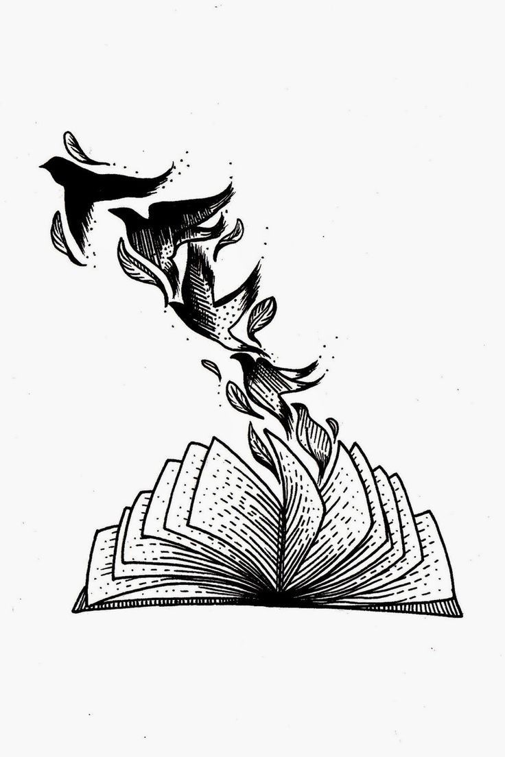 Flying Pages #books #literature #reading #art #drawing #