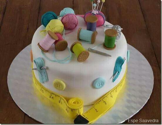 Cake costurero