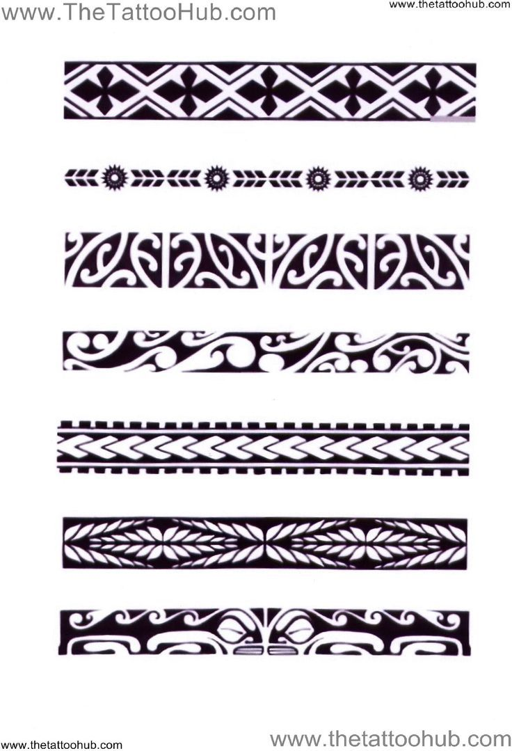 Polynesian Arm Bands Tattoo Hub Tattoo S By Type