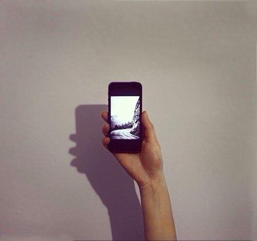 #photo#phone#nature