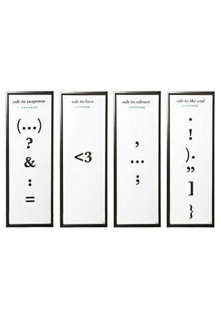 Edición limitada de set de cuatro poemas impresos a mano a dos ...