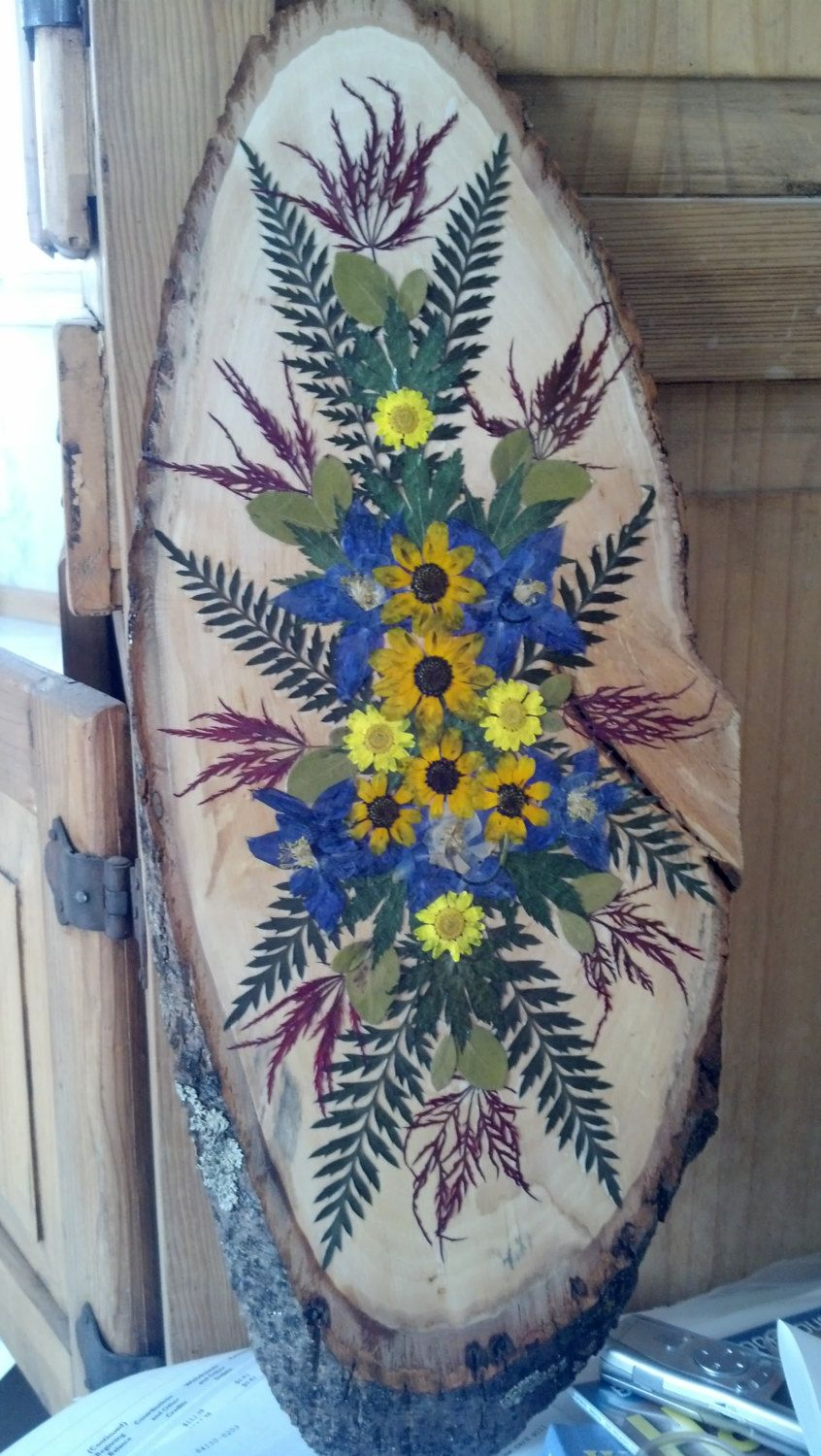 Colorado+Blue+Columbine+Collage+on+Rustic+by+FlowerFelicity,+$59.99