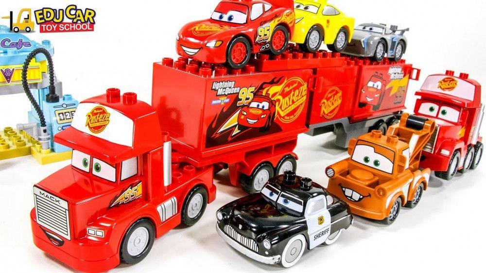 Learning Color Disney Pixar Cars Lightning McQueen Mack