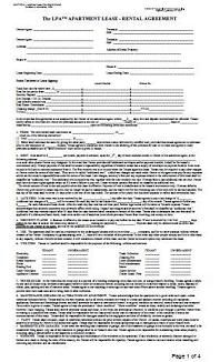 To Essential Landlord Rental Forms Page With Apartment Lease