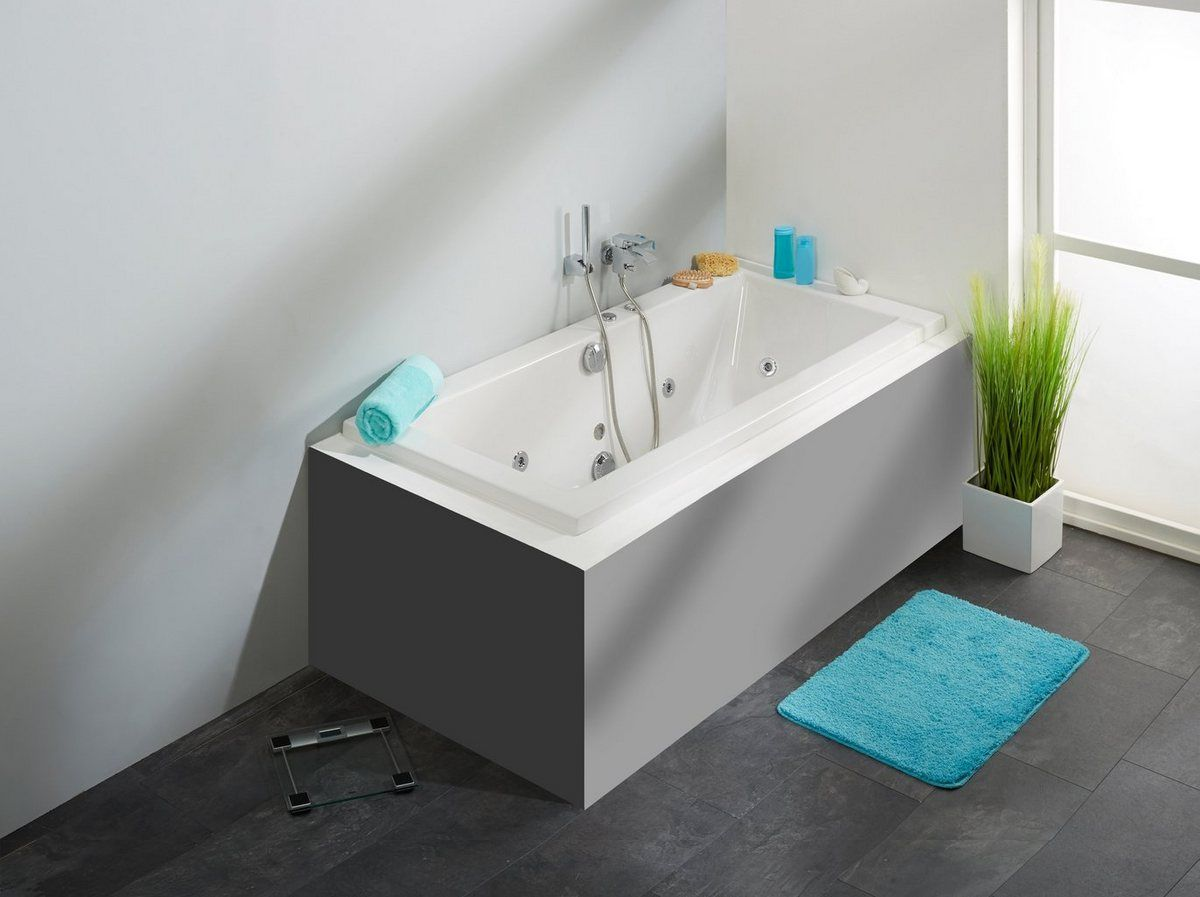 Photo of Whirlpoolwanne »Cubic«, B/T/H in cm: 180/80/65,5; mit Whirlpool-System 1
