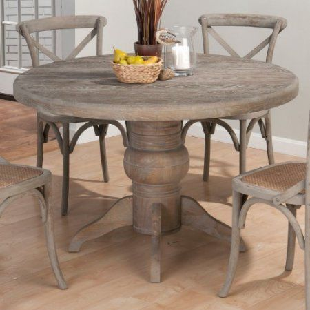 Jofran Booth Bay Round Pedestal Dining Table  Walmart Unique Dining Room Tables Walmart Design Inspiration