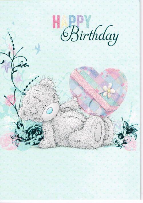 Happy Birthday Tatty Teddy Greeting Card Happy Birthday Teddy Bear Teddy Bear Tatty Teddy