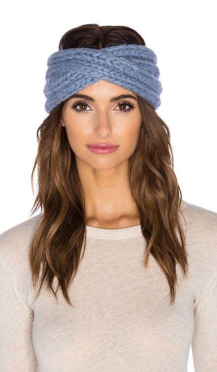 Eugenia Kim Lula Headwrap in Heather Blue