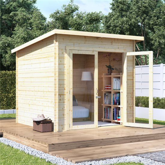 Minimalisthouse Plans: BillyOh Carmen Log Cabin Summerhouse