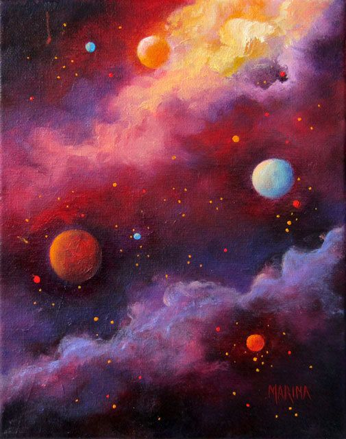 Fiery Galaxy This Amazing Fine Art Print Is Available At My Etsy Shop Here Https Etsy Me 2myvy2u Art Print Gicl Outer Space Art Celestial Art Galaxy Art