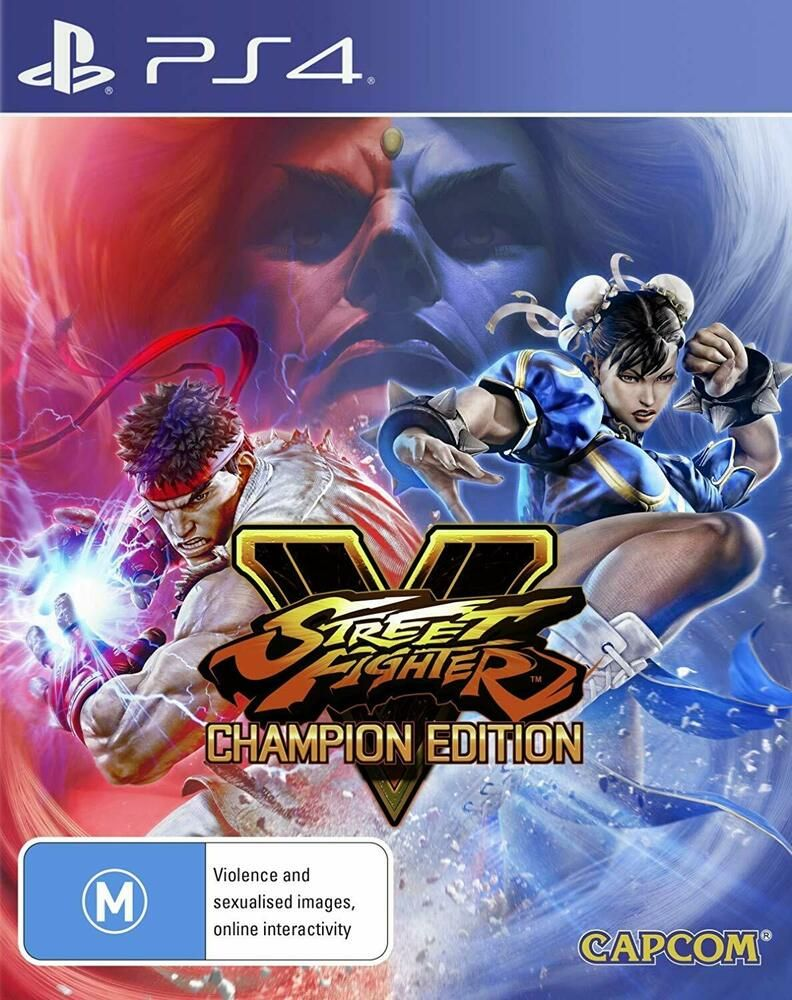 Details about Street Fighter V 5 Champion Edition Sony PS4