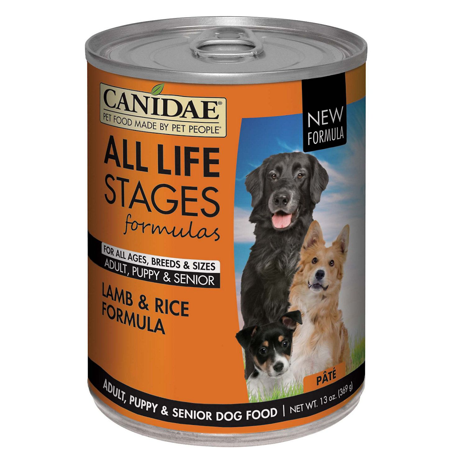 Canidae All Life Stages Lamb Rice Wet Dog Food 13 Oz Case Of