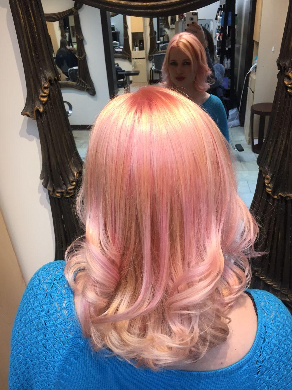 Dusty rose hair color #pinkhair @amandaleighortiz