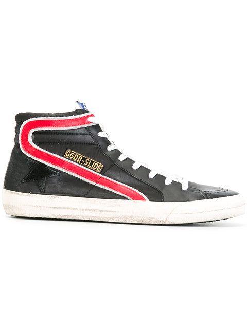 Slide hi-top sneakers - Red Golden Goose cYGk3kwiC