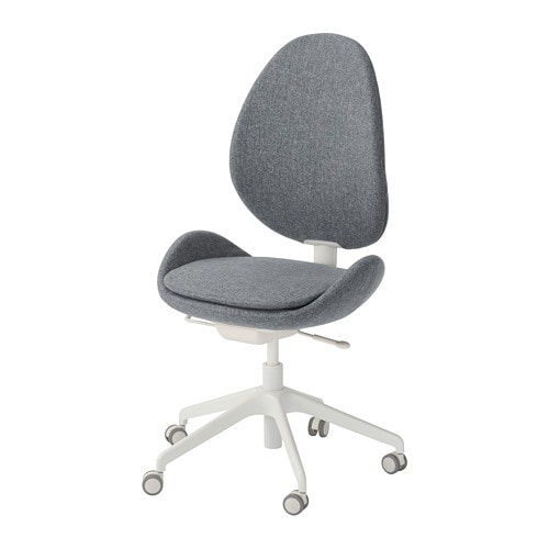 Hattefjall Office Chair Gunnared Light Brown Pink Ikea Office Chair Swivel Chair Chair