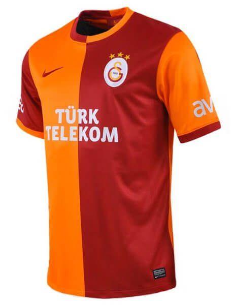 Galatasaray Home Football Jersey 2013-14