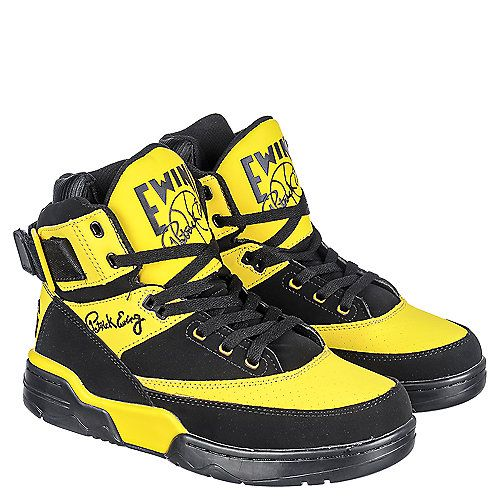 Ewing 33 - High-top trainers - black/yellow 6ECVEqMf