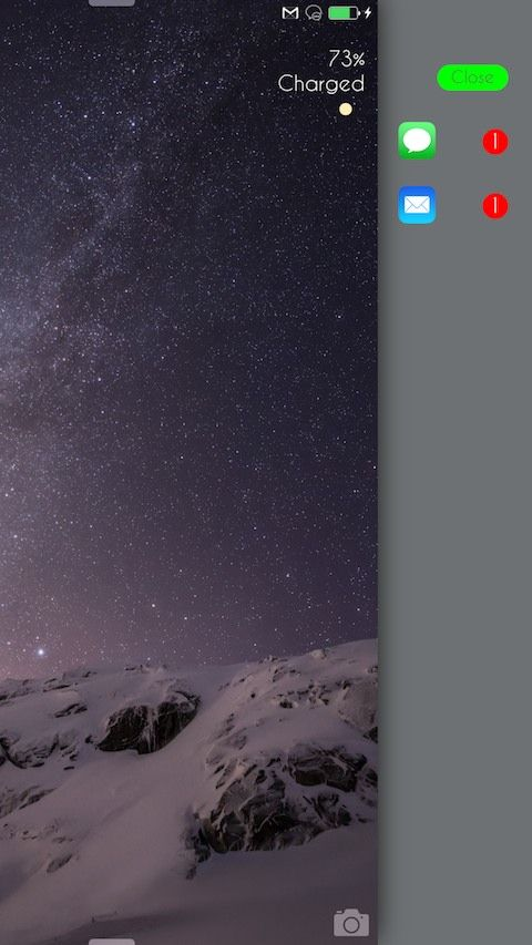CleanLock aduce un mod complet nou de a vizualiza notificari in ecranul de blocare