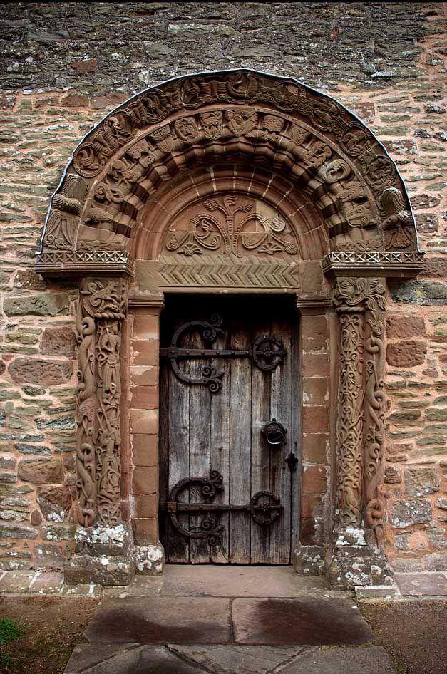 Kilpeck Church Door Doors Beautiful Doors Cool Doors