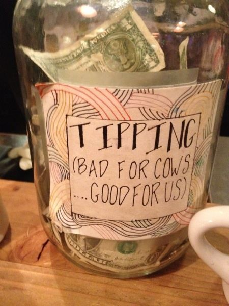 What Are The Most Effective Signs For Coffee Shop Tip Jars Quora