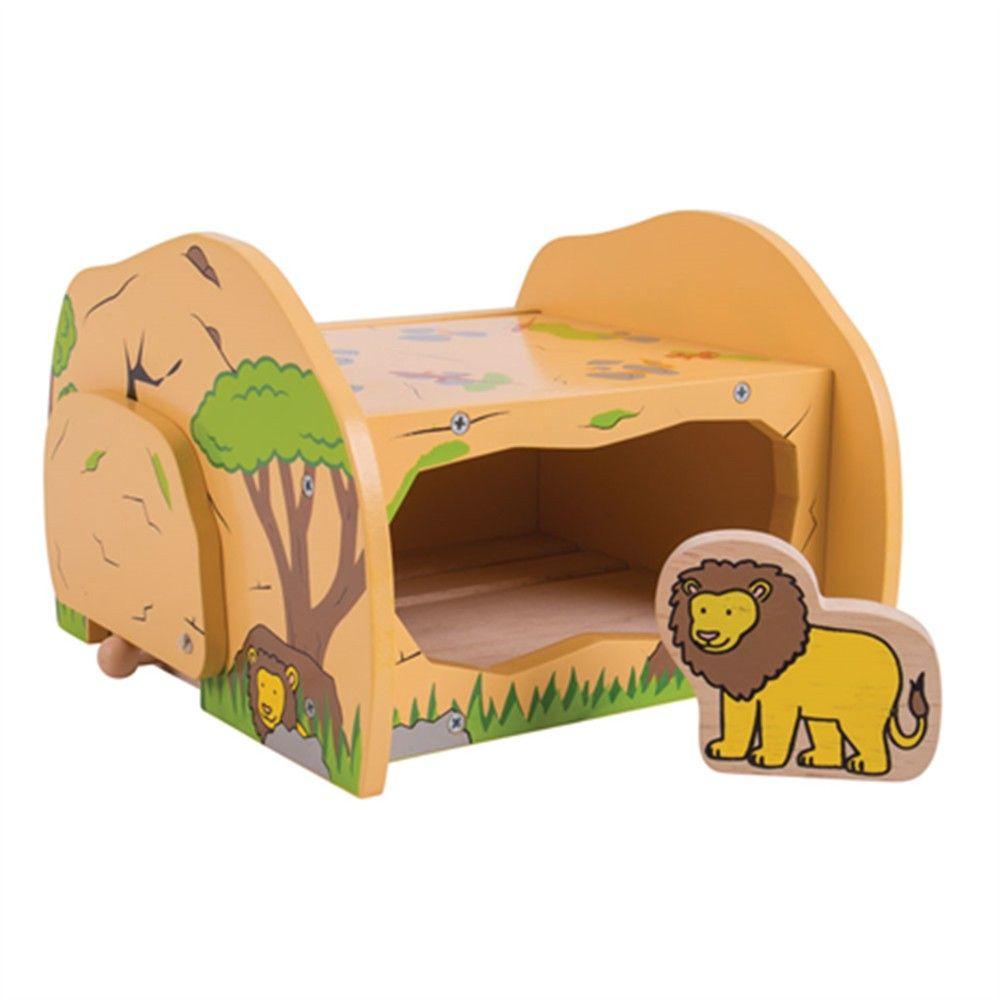 Bigjigs Safari Leeuwennest Speelgoed Treinen Speelgoed Trein