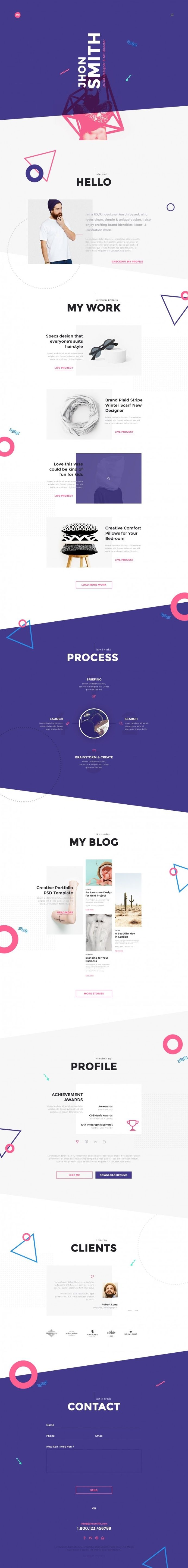 Me Creative Portfolio Resume Cv In Web Design Web Design