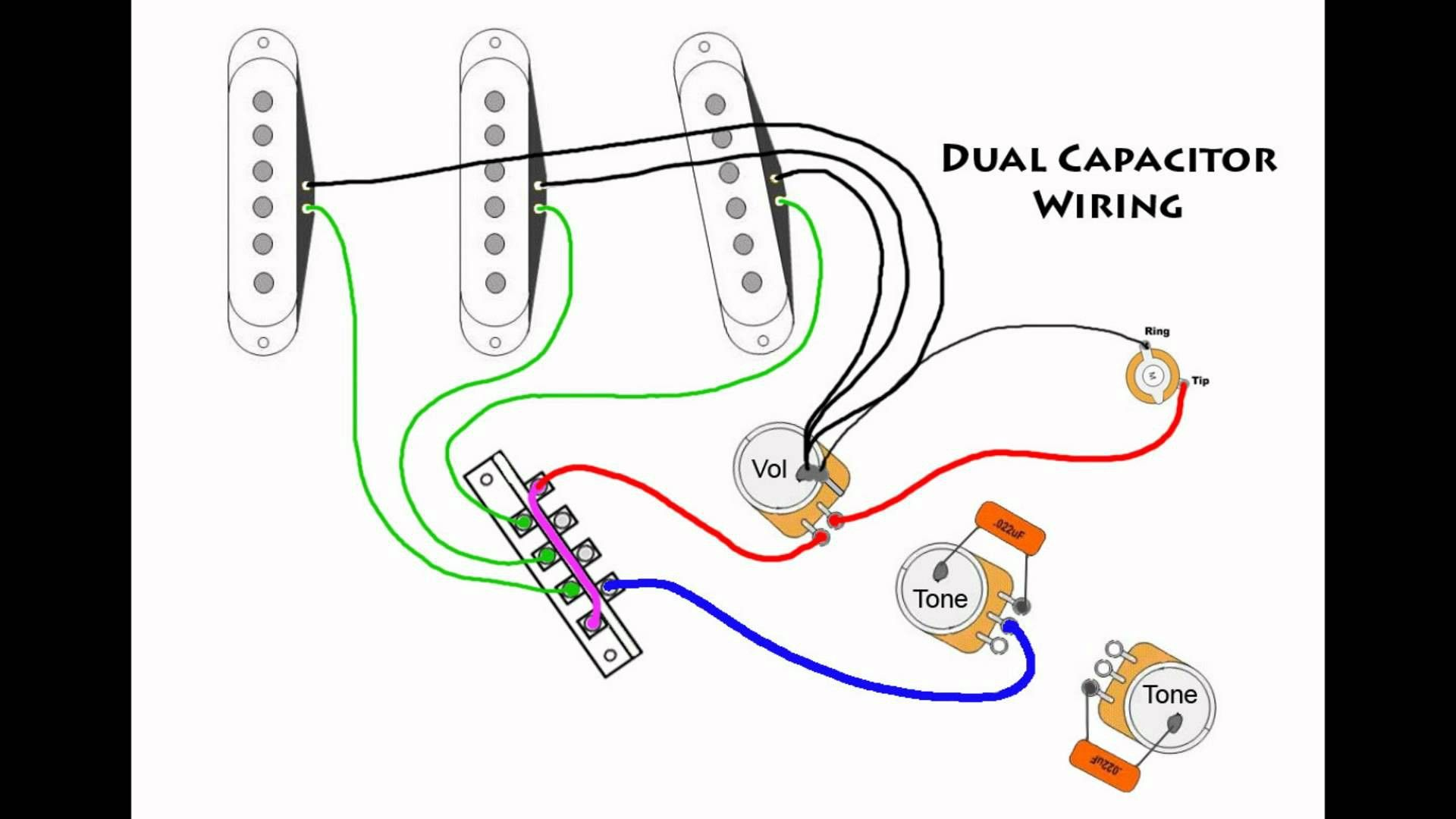 Pin em Wiring diagram David Gilmour Fender Wiring Diagram on