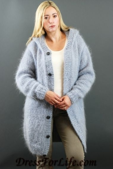 Hand knitted sweater from Dress For Life | Angora | Pinterest ...