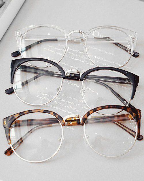 Round Frame Clear Glasses Monturas De Gafas Lentes De Moda Transparentes Gafas De Moda