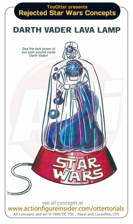 Star Wars Lava Lamp Star Wars Toys That Never Got Made Darth Vader Lava Lampi Would