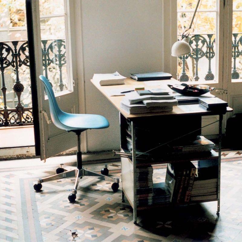 Fauteuil de bureau vitra eames plastic side chair pscc sur