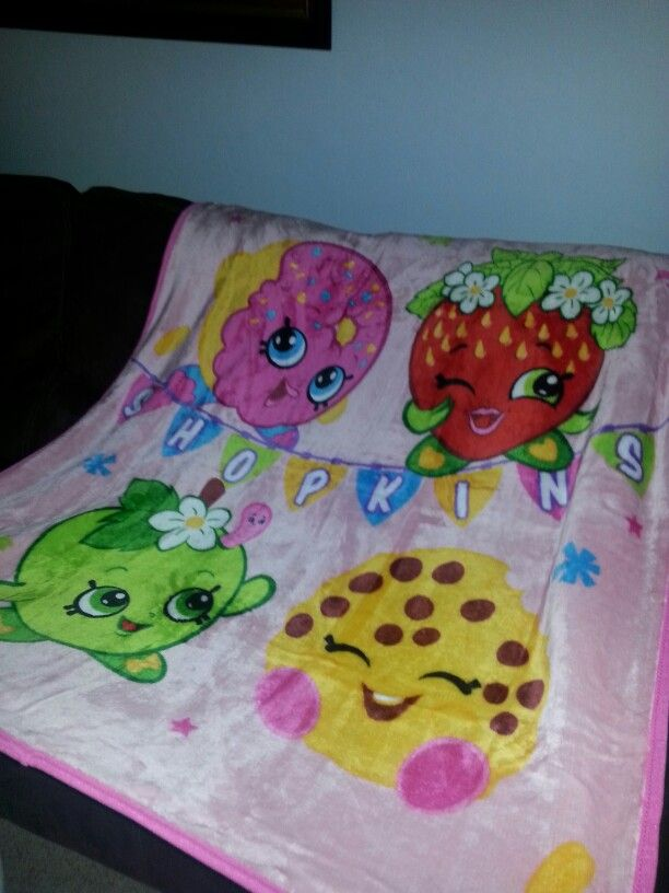 Walmart Throw Blankets Beauteous Shopkins #blanket #walmart  My Stuff  Pinterest  Shopkins 2018