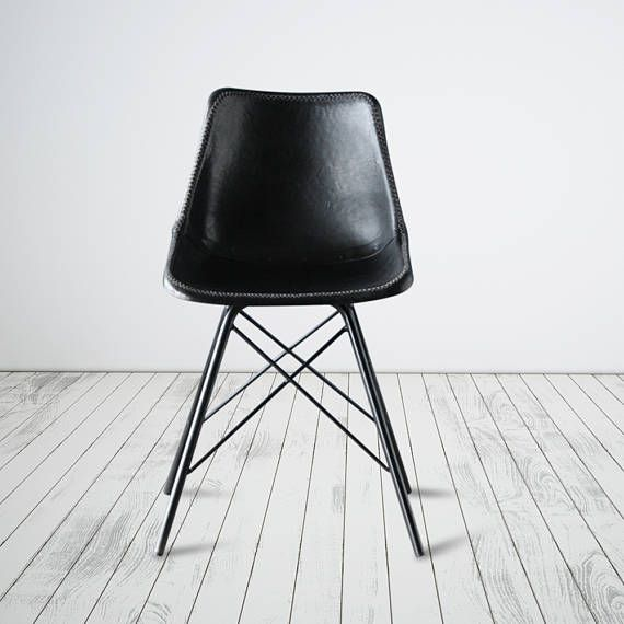 Eames Style Chair On Cross Legs