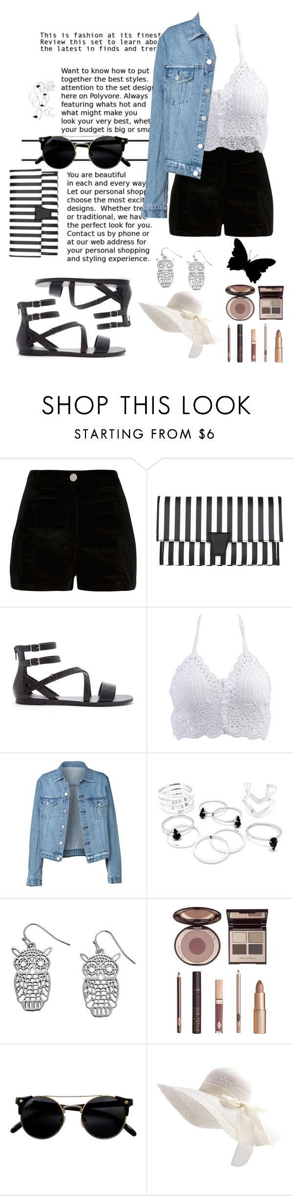 """Untitled #60"" by rumeysa-aydnl ❤ liked on Polyvore featuring River Island, Forever 21 and Charlotte Tilbury"