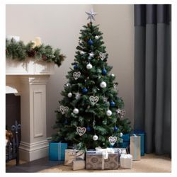 Tesco 6ft Snow Alps Spruce Christmas Tree From Our Trees Range