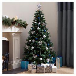 Tesco Direct Tesco Snow Alps Spruce Christmas Tree 6ft Best Artificial Christmas Trees Spruce Christmas Tree Cool Christmas Trees
