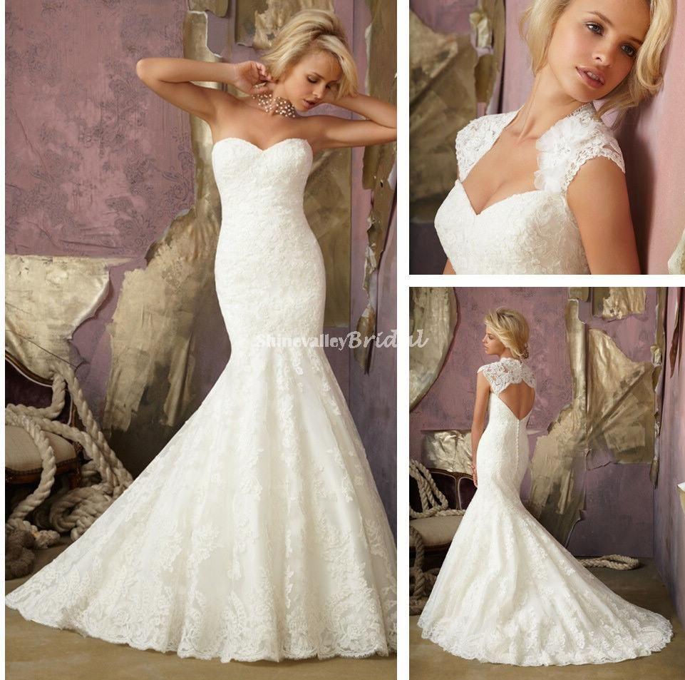 Trumpet Style Wedding Gowns: Dress Wedding » Trumpet Style
