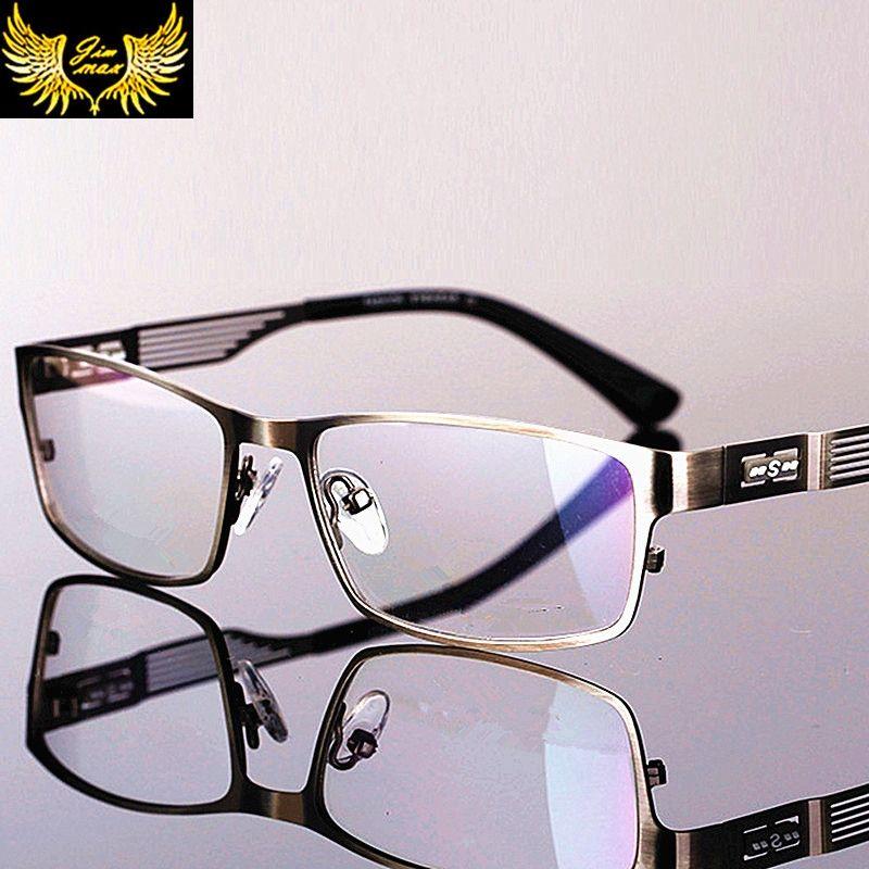 841f09d1dfa Men Style Titanium Alloy Full Rim Eye Glasses Quality Fashion Men s  Eyeglasses 2017 New Arrival Classic Optical Frame for men