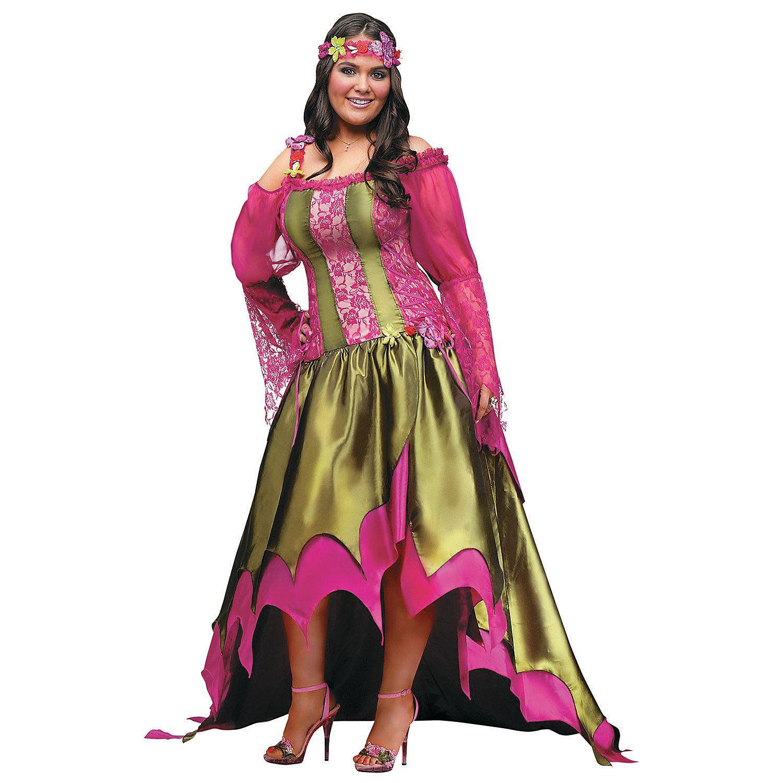 Fairy+Queen+Plus+Size+Halloween+Costume+for+Women+