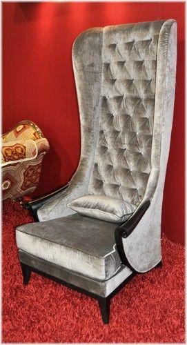 High Back Chair Ss Luxury Tall Birch Wood