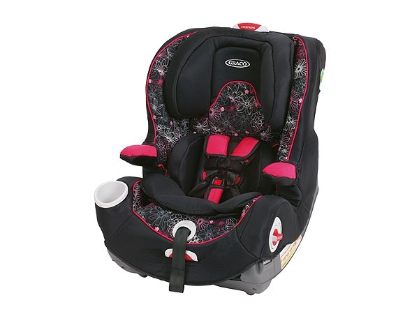 Smart Seat™ All-in-One Car Seat, Jemma™ - Graco This is the one I want - ab - in Jemma design:)  Can remove in base and has best ease of use design