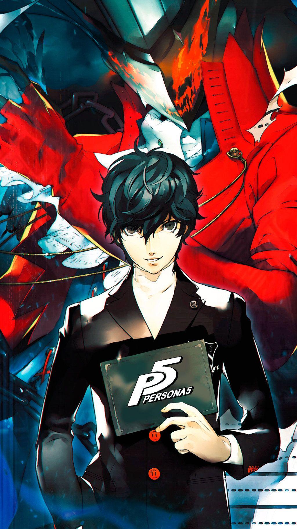 Persona 5 Wallpaper For Smartphone By De Monvarela On Persona 5