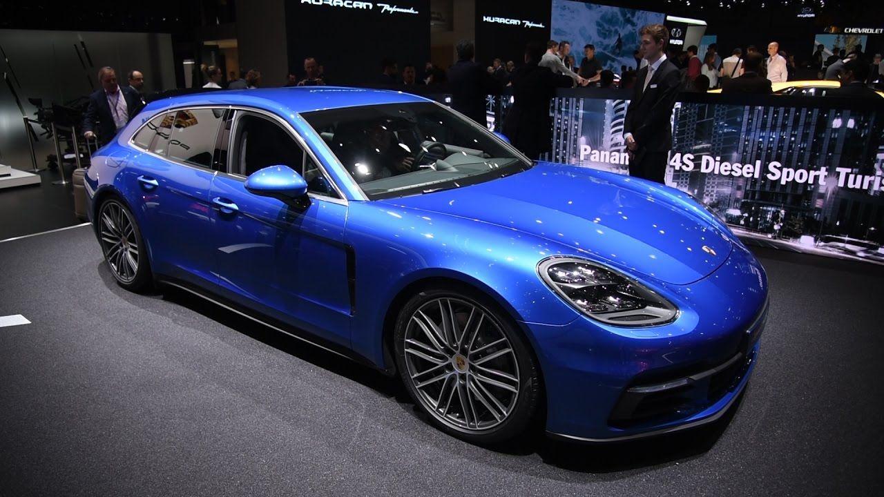 2018 Porsche Panamera Sport Turismo and Turbo S E Hybrid