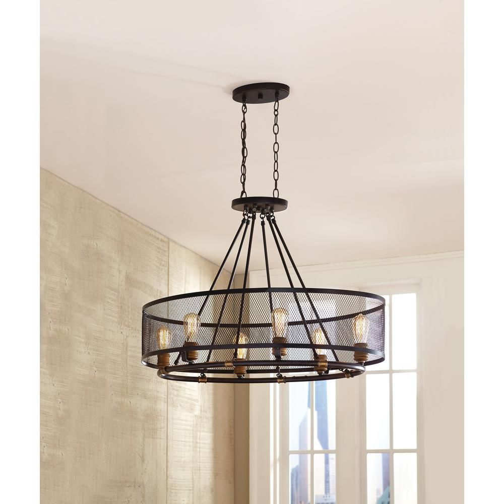 Home Decorators Collection Mayfield Park 6 Light