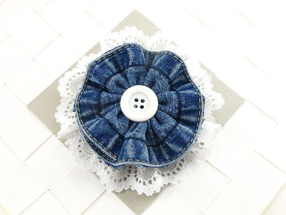 Hey, I found this really awesome Etsy listing at http://www.etsy.com/listing/157879336/denim-and-lace-flower-hair-bows-hair
