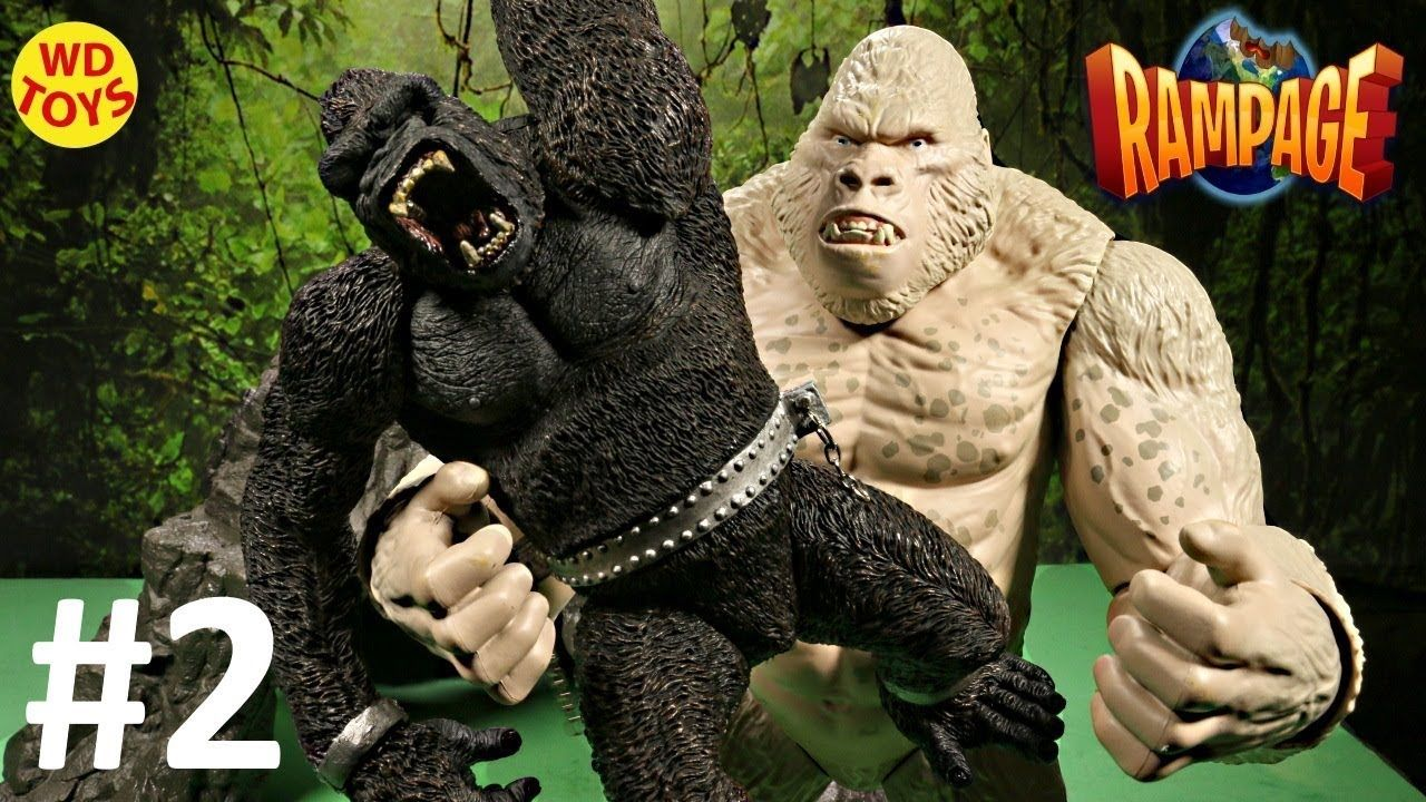 Rampage The Movie Toys Subject George Big City Brawl King Kong Vs Georg King Kong Movies Kong
